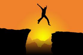 cliff leap